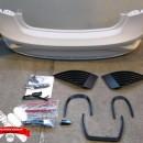 Para-choques traseiro completo Seat Ibiza 6J 5 portas Aerodinamico