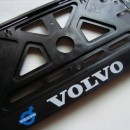 Placa de matricula Volvo
