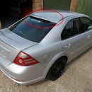 Aileron do vidro Ford Mondeo MK3