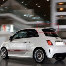 Aileron Fiat 500 look abarth