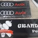 Almofadas de Cintos Audi tipo carbono
