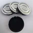 Centros de Jantes Nissan 60/55mm cinza