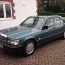 Chuventos Mercedes 190 4 portas