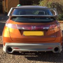 Difusor traseiro Honda Civic FN, FN2, FK