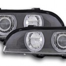 Farois Angel Eyes BMW E39 preto Xenon