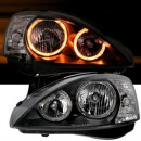 Farois Angel Eyes pretos Opel Corsa C
