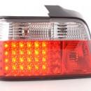 Farolins BMW E36 Sedan em LED vermelho e branco