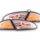 Farolins Seat Leon 1P cromados em LED