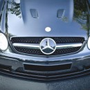 Lip frontal Mercedes CLK W209 Black Series