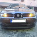 Lip frontal Opel Astra H adaptado em Seat Leon 1M / Toledo 1M