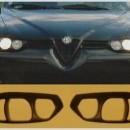 Máscaras de farois Alfa Romeo 156
