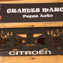 Placa de matricula Citroen