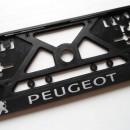 Placa Matricula Peugeot