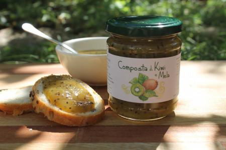 composta kiwi e mela