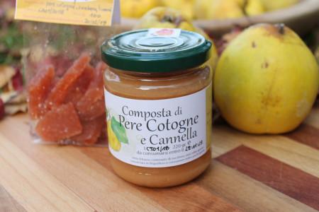 Composta di Pere Cotogne e Cannella