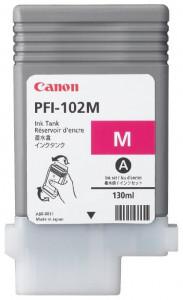 Canon PFI-102M, Cartus original, Magenta, 1500 pagini