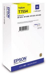 Epson T7554 / C13T755440, Cartus original, Yellow, 4000 pagini