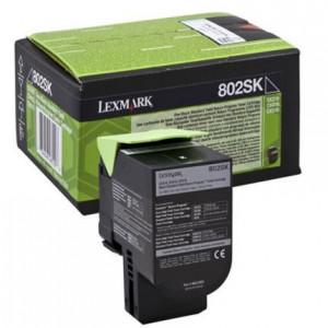 Lexmark CX310BK / 80C2SK0, Cartus toner original, Negru, 2500 pagini