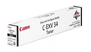 Canon C-EXV34BK, Cartus toner original, Negru, 23000 pagini