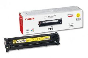 Canon CRG-716Y, Cartus toner original, Yellow, 1500 pagini