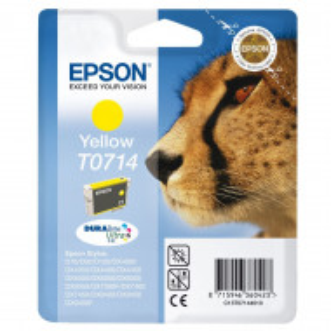 Epson T0714, Cartus original, Yellow, 480 pagini