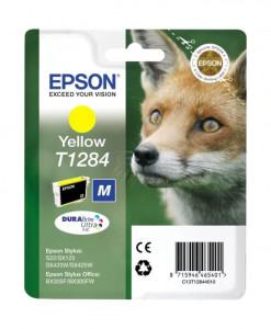 Epson T1284 / C13T12844010, Cartus original, Yellow, 250 pagini