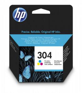 HP 304 / N9K05AE, Cartus original, Color, 100 pagini