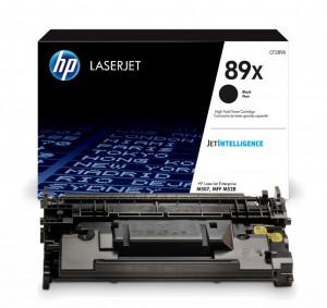 HP 89x / CF289X, Cartus toner original, Negru, 10000 pagini
