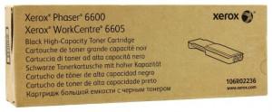 Xerox 6600BK / 106R02236, Cartus toner original, Negru, 8000 pagini