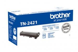Brother TN-2421, Cartus toner original, Negru, 3000 pagini