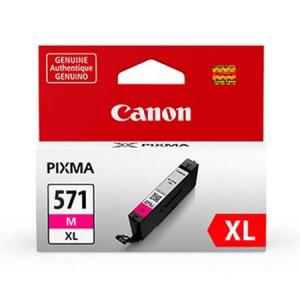 Canon CLI-571XL M, Cartus original, Magenta, 650 pagini