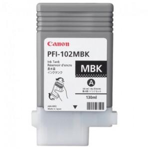 Canon PFI-102MBK, Cartus original, Negru Mat, 2200 pagini
