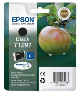 Epson T1291 / C13T12914010, Cartus original, Negru, 380 pagini