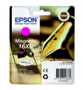 Epson T1633 / C13T16334010, Cartus original, Magenta, 450 pagini
