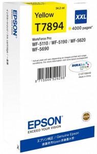 Epson T7894 / C13T789440, Cartus original, Yellow, 4000 pagini