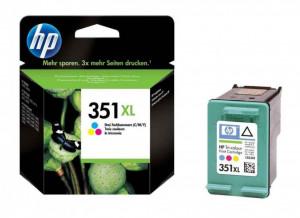 HP 351XL / CB338EE, Cartus original, Color, 580 pagini