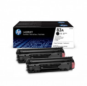 HP 83a / CF283AD, Cartus toner original, Negru, 1500 pagini, Dual Pack 2 x 1500 pagini