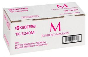 Kyocera TK-5240M, Cartus toner original, Magenta, 3000 pagini