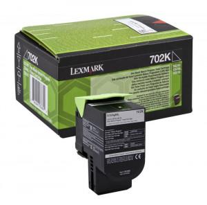 Lexmark CS310BK / 70C20K0, Cartus toner original, Negru, 1000 pagini
