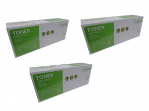 Set 3 bucati Samsung MLT-D111L, Cartus toner compatibil, Negru, 1800 pagini - i-Aicon