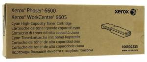 Xerox 6600C / 106R02233, Cartus toner original, Cyan, 6000 pagini