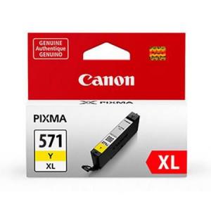 Canon CLI-571XL Y, Cartus original, Yellow, 680 pagini