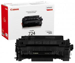 Canon CRG-724, Cartus toner original, Negru, 6000 pagini