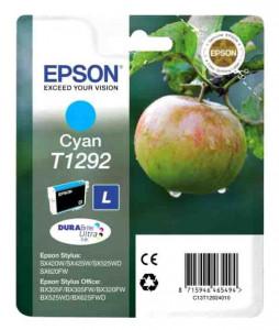 Epson T1292 / C13T12924010, Cartus original, Cyan, 445 pagini