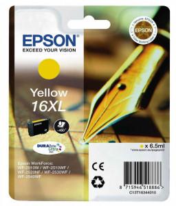Epson T1634 / C13T16344010, Cartus original, Yellow, 450 pagini