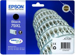 Epson T79XL BK / C13T79014010, Cartus original, Negru, 2600 pagini