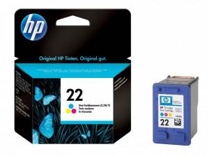 HP 22 / C9352AE, Cartus original, Color, 165 pagini