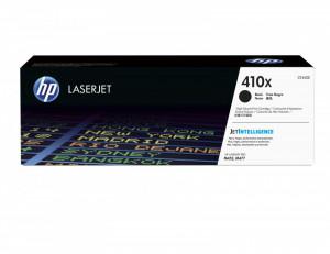 HP 410x / CF410X, Cartus toner original, Negru, 6500 pagini