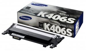 Samsung CLT-K406S, Cartus toner original, Negru, 1500 pagini