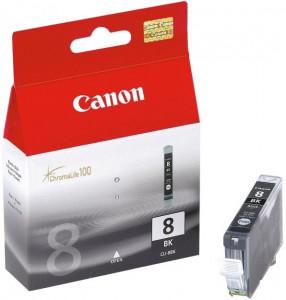 Canon CLI-8BK, Cartus original, Negru, 420 pagini